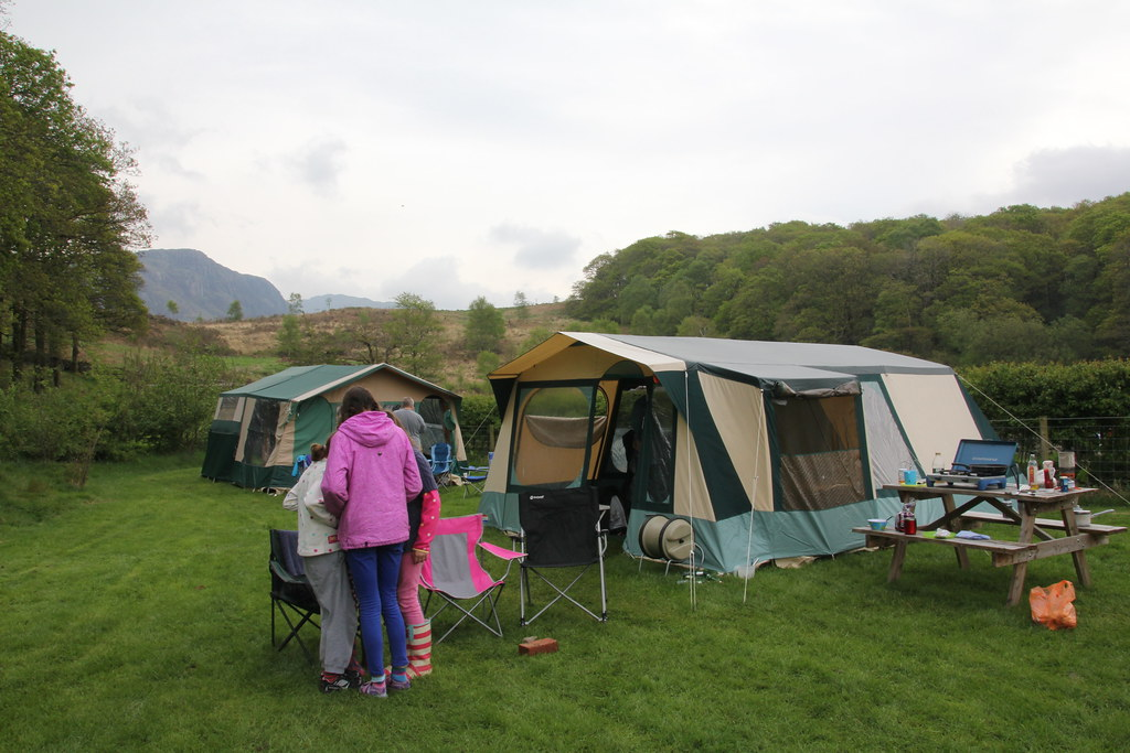 nether wasdale, church stile campsite
