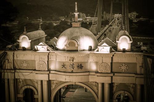 Night view|大溪橋
