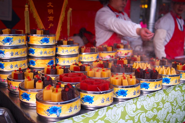 东华门夜市 (Dong Hua Men Night Market), Beijing, China