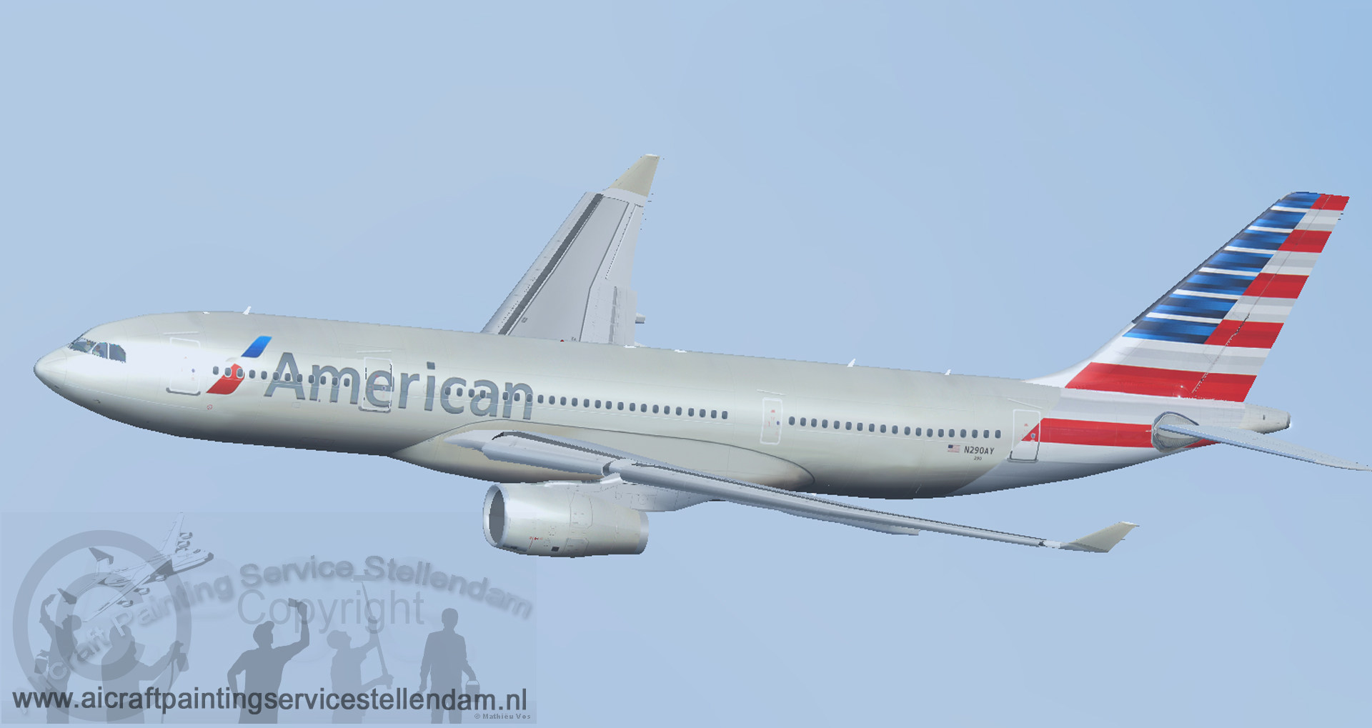 ProskyAirbusA330-200RR_American_Airlines_N290AY_FSX
