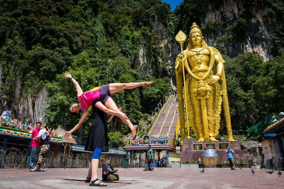 Tourist @ Batu Caves, Malaysia