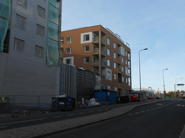 Hämeenlinnan moottoritiekate ja Goodman-kauppakeskus: Työmaatilanne 13.10.2013 - kuva 2