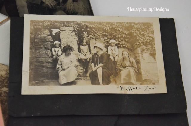 Antique Photograph/Buffalo Zoo-Housepitality Designs