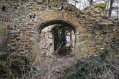Trowse Newton Hall ruin