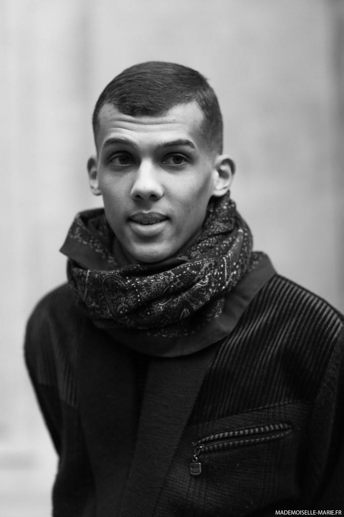 Stromae at Paris fashion week menswear