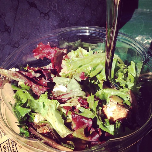 Cool greens for lunch!