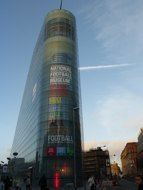 National Football Museum, Manchester by CC user raver_mikey on Flickr