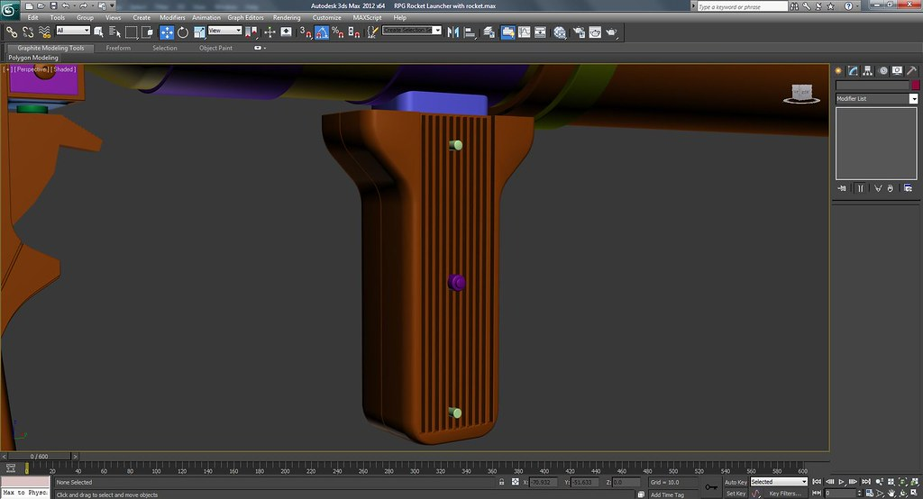 RPG Rocket Launcher Work In Progress Screenshots