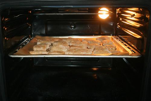 29 - Hähnchenteile im Ofen garen / Bake chicken pieces in oven