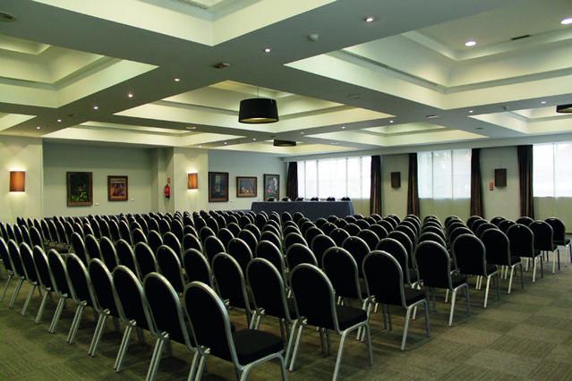 Sala de conferencias de Rafaelhoteles Atocha