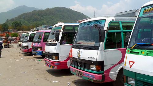 Nepal - Kathmandu - New Bus Park - 2