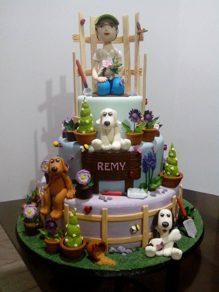 Garden Cake by Jhoana Reyes