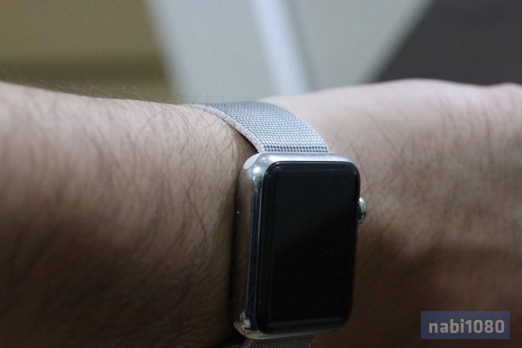 Apple Watch ウーブンナイロンバンド14
