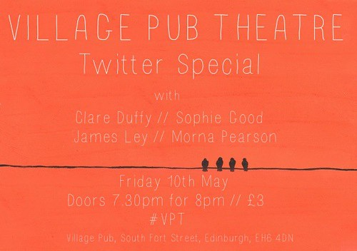 Tweet a play for Pub Theatre #vpt