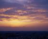 夕闇の雲明かり