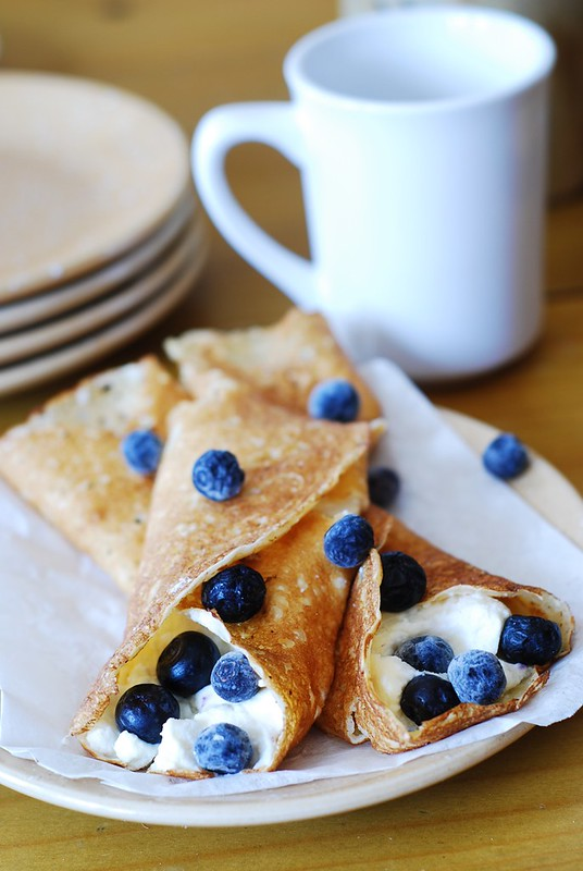 Crepes With Ricotta Cheese