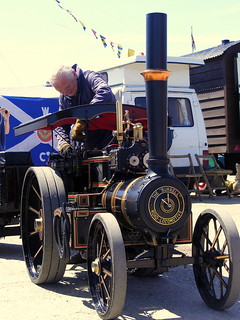 The Small 'Burrell' Traction Engine