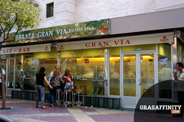 Cafe bar Gran Via Murcia