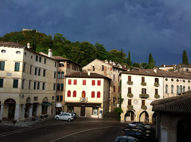 Asolo after the thunderstorm