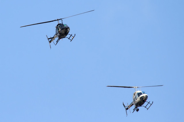 Oklahoma Highway Patrol & Tulsa Police Department Helicopters
