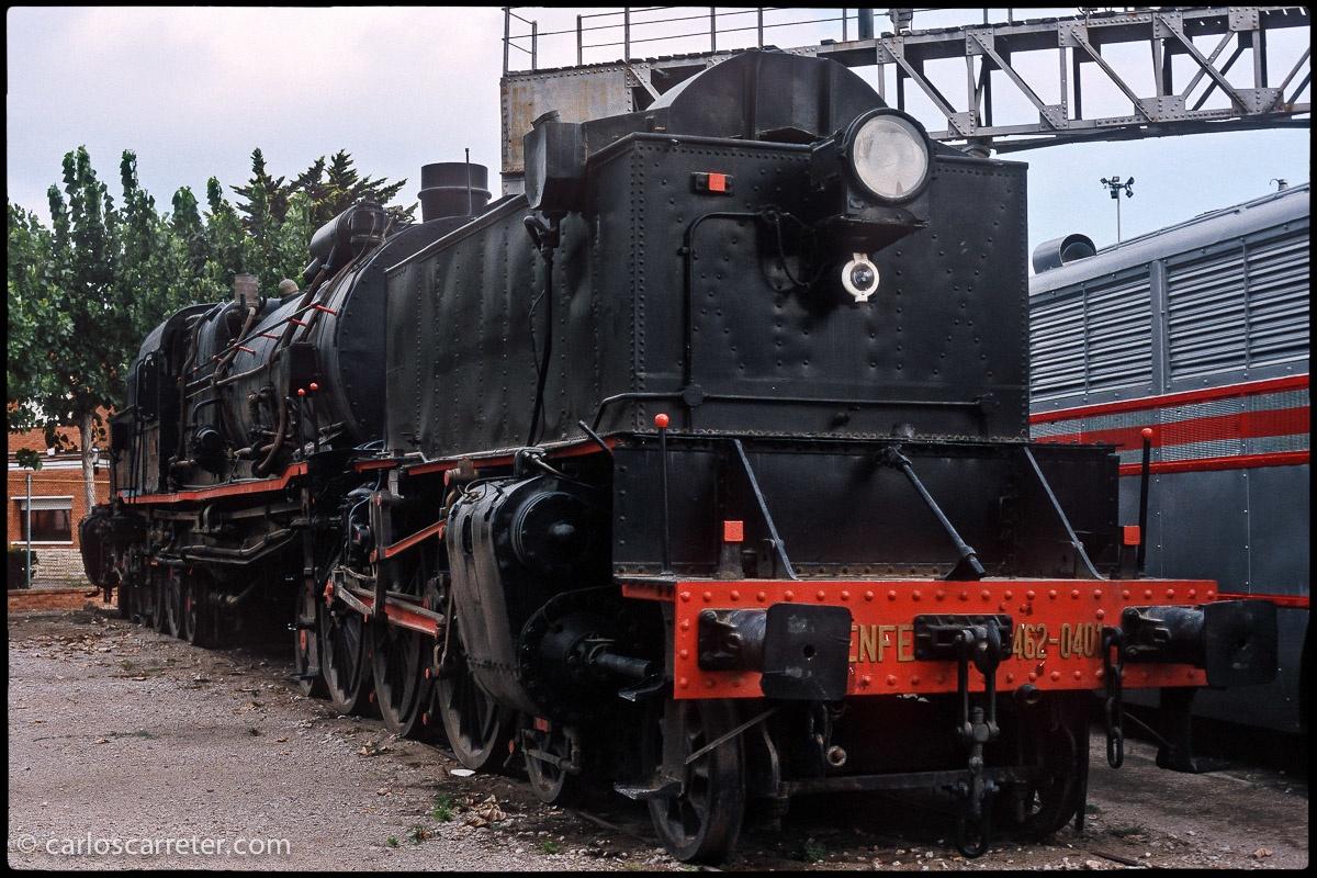 Locomotora Garratt 462-040, para trenes rápidos de pasajeros
