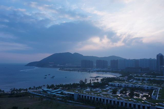 Morning view in Sanya