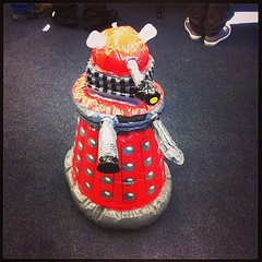 Also, inflatable remote controlled dalek! #comicgong cc @tanaudel