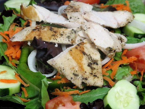 Grilled chicken salad by Coyoty
