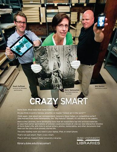 Crazy Smart Doris Duke