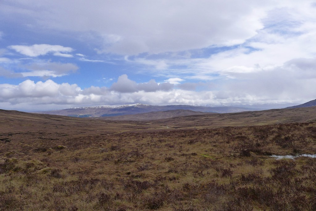 The Monadhliath Mountains