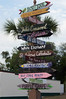 txdragonfly11 posted a photo:	Street signs, St. Andrews, Florida...SONY DSC