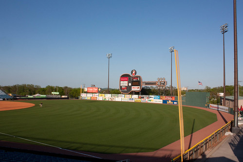 Greer Stadium in Nashville, TN