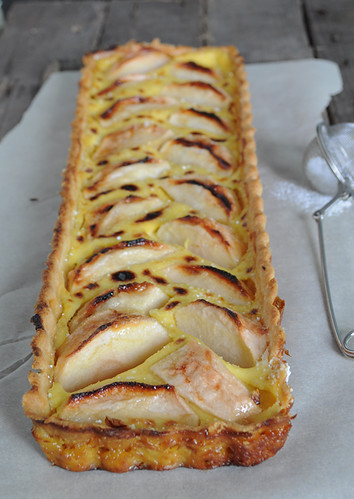 Creme Brulee Maple Apple Tart