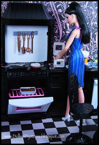 Making Dinner by DollsinDystopia