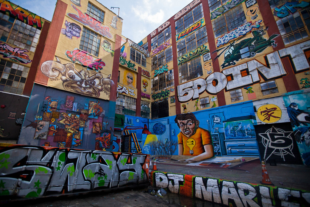 5Pointz - graffitien mekka | Queens, NY