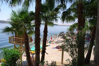 Playa de Orellana.
