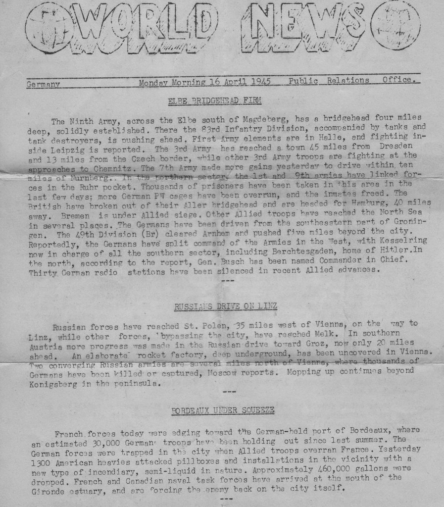 World War 2 WWII WW2 World War II 7th armored division st vith battle of the bulge 1945