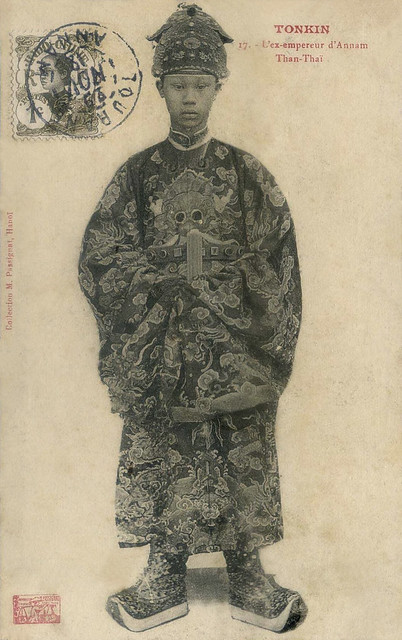 Thanh Thai King - Vua Thành Thái trong triều phục
