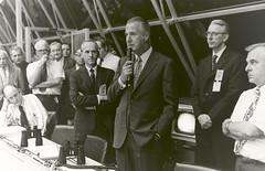 Spiro Agnew Congratulates Launch Control After Lau…