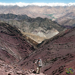 Dan at Gongmaru La Pass, Layers and Layers of Mountains - Ladakh, India