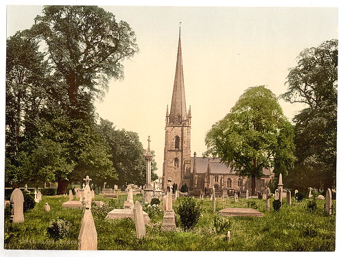 [Church, Ross-on-Wye, England]  (LOC)
