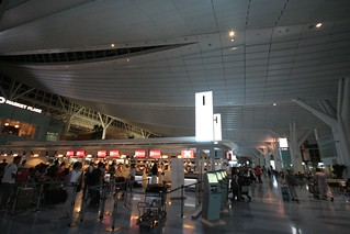 Day1-1 深夜の羽田空港から