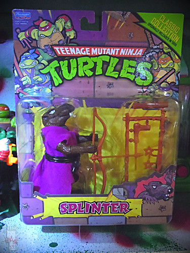 TEENAGE MUTANT NINJA TURTLES - CLASSIC COLLECTION :: 'RETRO' SPLINTER i (( 2013 ))