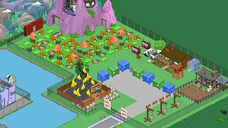 Simpsons Tapped Out Dump