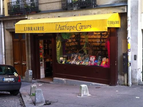Librairie l'attrape coeurs (Paris)