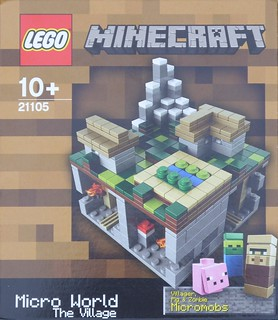 21105 Minecraft: The Village
