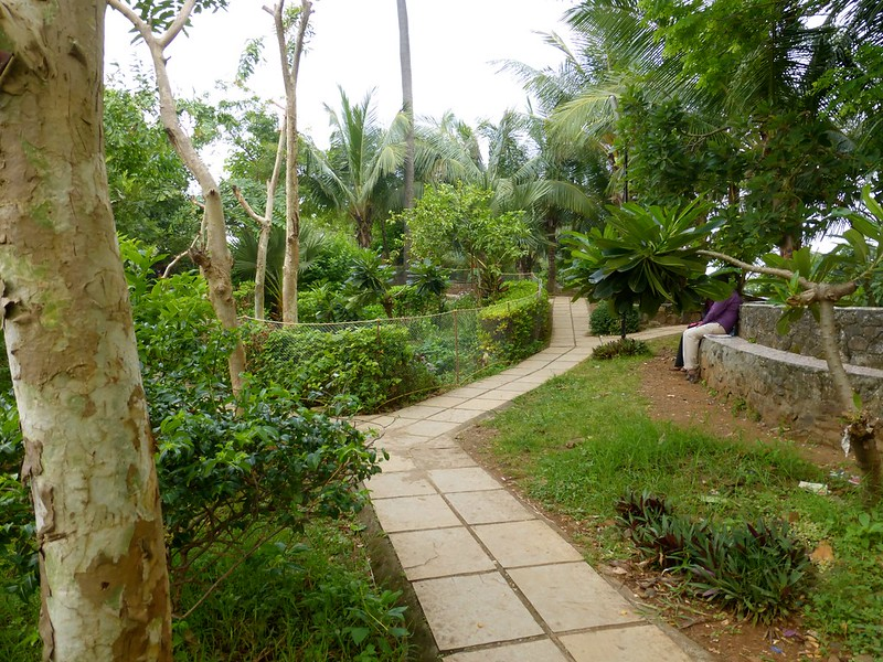 Bandra Fort - gardens in the fort