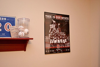Hung poster. #weekinthelife