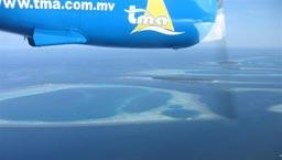 水上飞机拍照游览