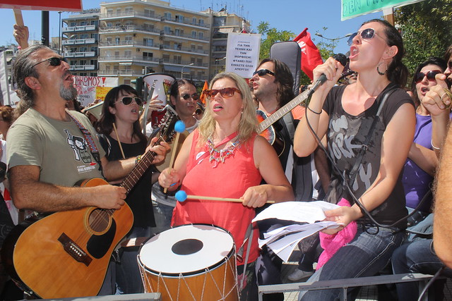 Greek educators extend strike action in protest against further spending cuts